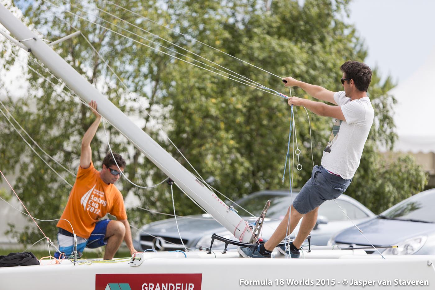 F18 Worlds 2015 - 11-07-2015 (Kiel - Germany)-7101
