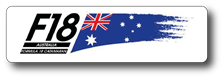 F18 AUS logo