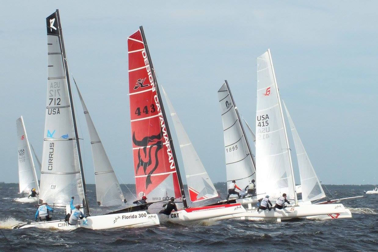 Photo Charlotte Harbour race 1 2015