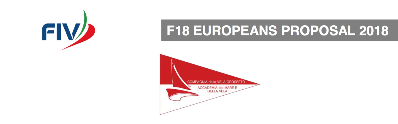 F18 Europeans 2018 bid Italy (banner)